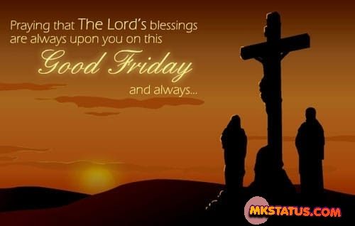 Latest good friday quotes with crucifixion of Jesus background images