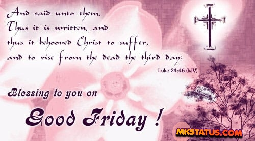 Top status good friday photos with messages and quotes