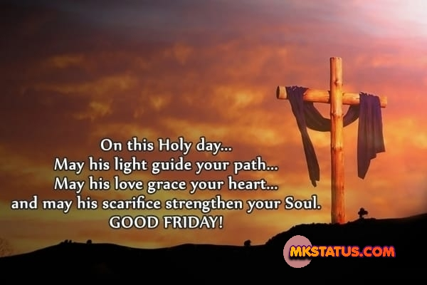good friday quotes with crucifixion of Jesus background images