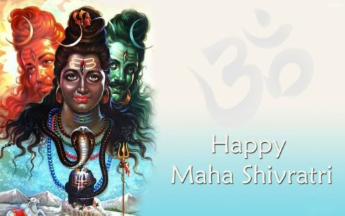 Beautiful Happy Maha shivratri Wishing images