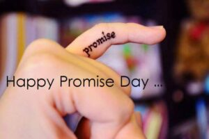 Creative Promise Day Wishing images