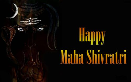 Desktops wallpapers of Happy Maha shivratri