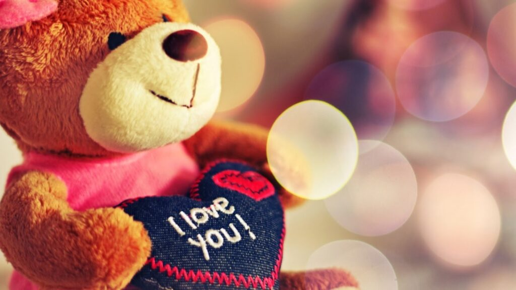 Desktops wallpapers of Happy Teddy Day Greeting
