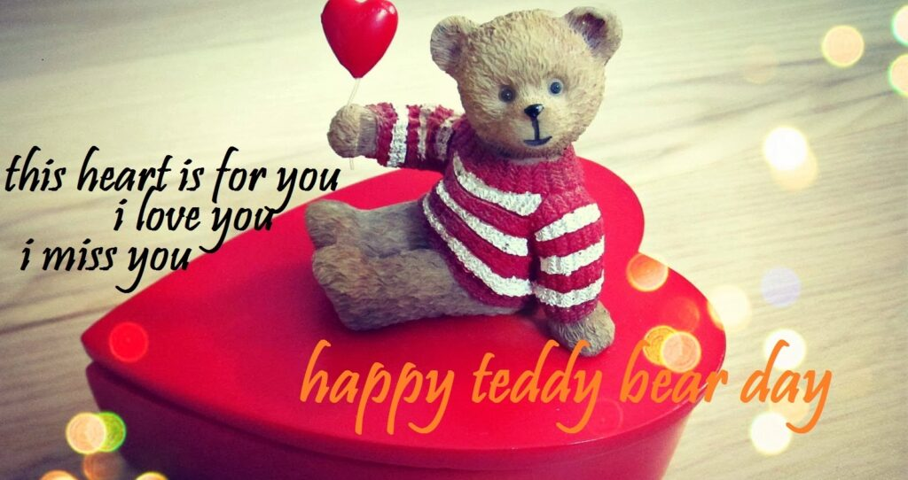 Romantic quotes for teddy day 2021