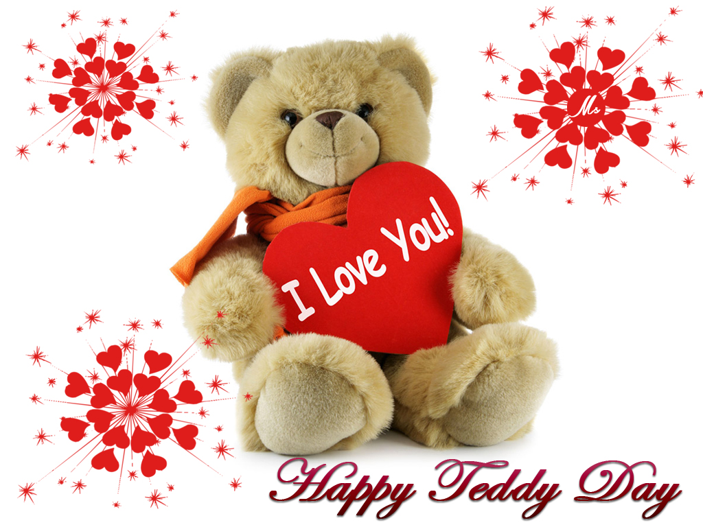 Free Download Happy Teddy Day Wishing pics for whatsapp status