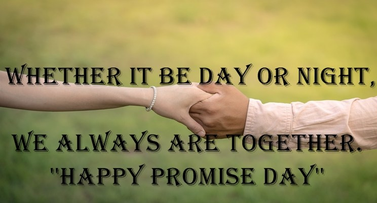 Free Download Promise Day Wishing Quotes images