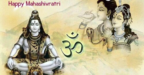 Shiv Parvati background images wishing Happy Maha shivratri