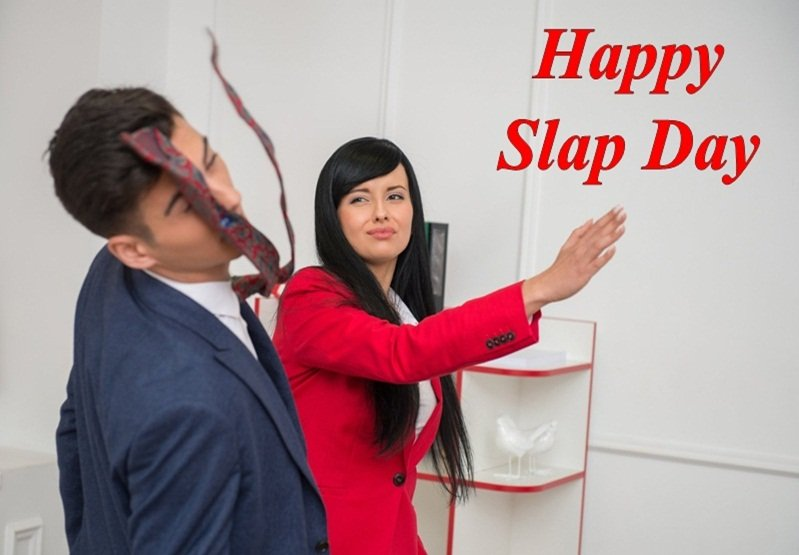 Happy Slap Day 2020 Hd Wallpapers