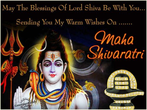 Latest Happy Maha shivratri Greeting Quotes and messages