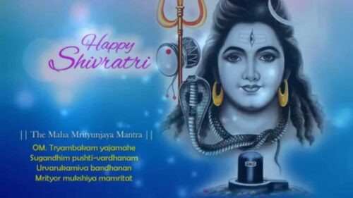 Latest Happy Maha shivratri Greeting images with quotes