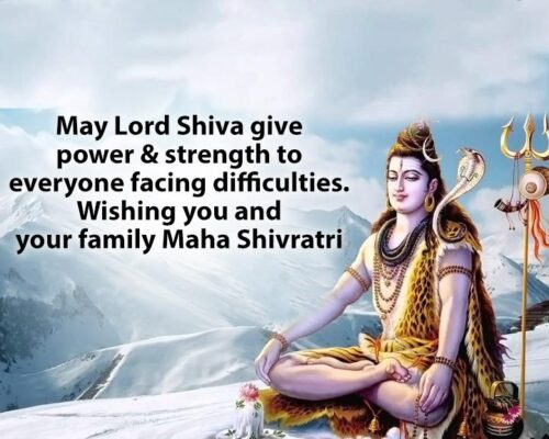 Latest Happy Maha shivratri Wishing quotes and sms with HD Images