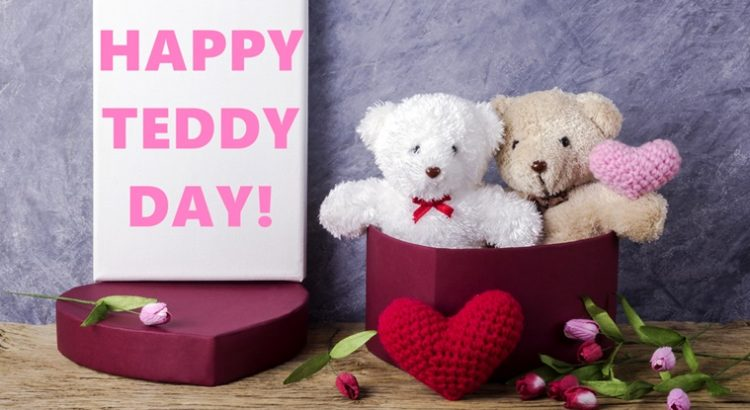 Latest Happy Teddy Day Wishing quotes images