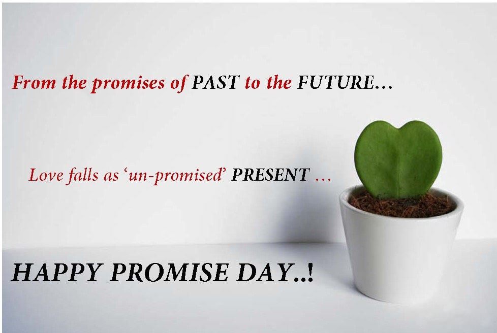 Latest Quotes for Promise Day Wishing quotes