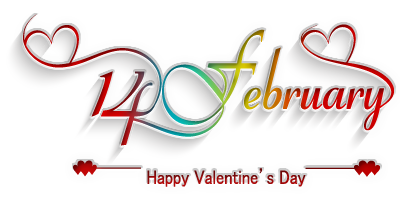 Small Clip art of Happy Valentine's Day Wishing images