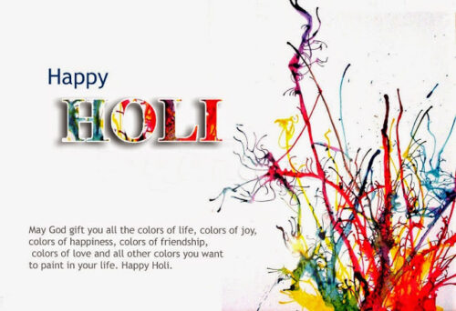 Happy Holi greeting new special Quotes images