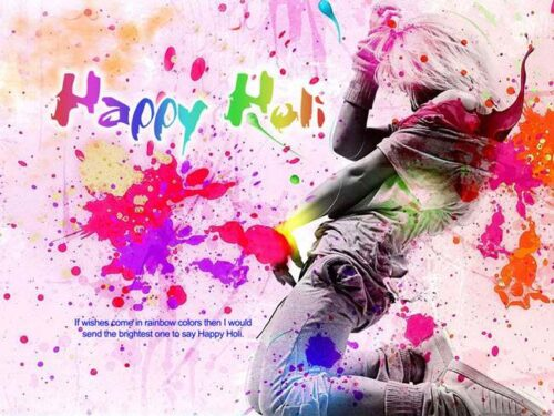 Top New Happy Holi Wishing Quotes in English