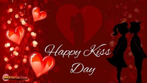 Download Happy Kiss Day greeting wallpapers photos
