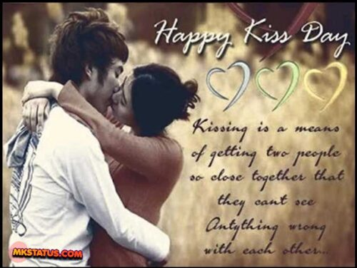 Top Kiss Day Images of romantic couple