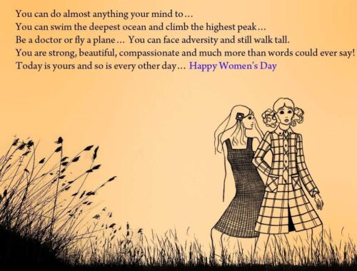Awesome Happy International Women's Day 2018 wishing images Quotes messages and sms