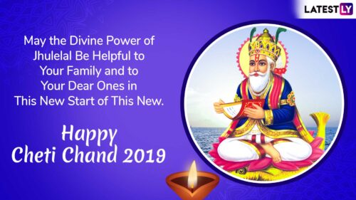 Happy Cheti Chand wishes quotes in English images