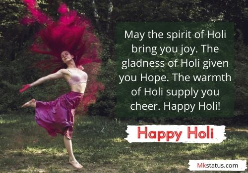 Happy Holi Wishes Images With Messages