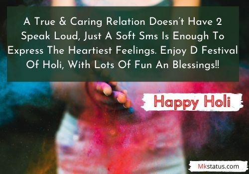 Happy Holi 2021 Messages in English