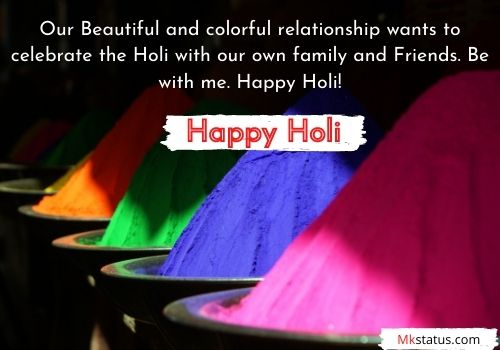 Happy Holi 2021 wishing Quotes in English in Text