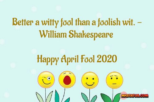 April Fool Wishing quotes