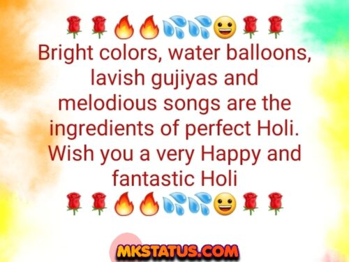 Top Holi greeting Quotes latest status
