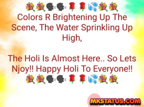 Download Happy Holi 2021 wishing Quotes in English