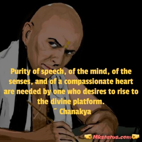 Chanakya Quotes  for Success Images