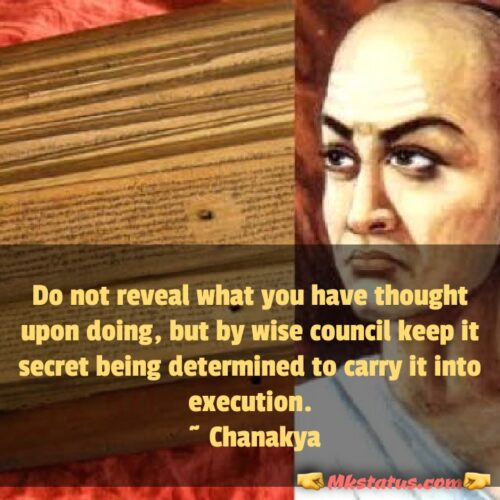 Chanakya Quotes for Success FB Status