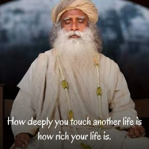 Sadhguru Quotes about life