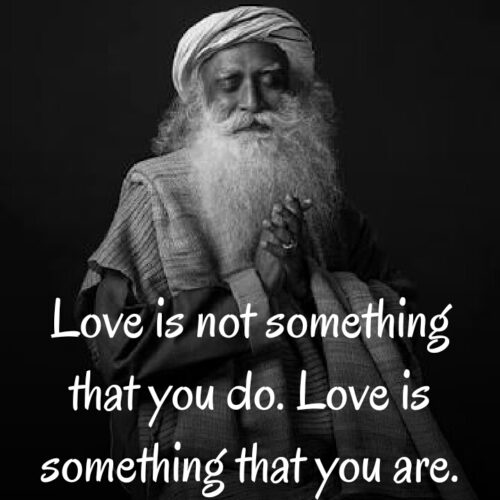 Sadhguru love quotes