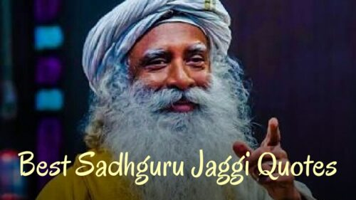 Best Sadhguru quotes