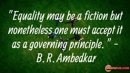 B. R. Ambedkar Equality Quotes Pictures