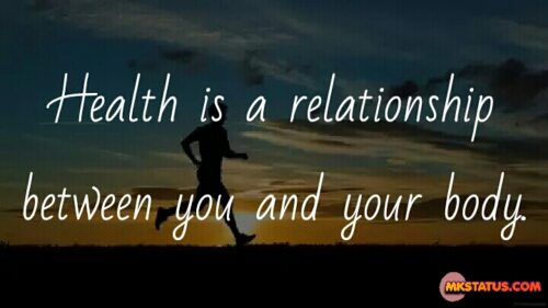 Being Positive Health Quotes HD Images