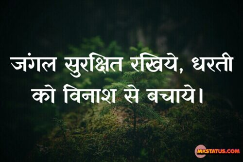 Earth Day Hindi Theme Pictures