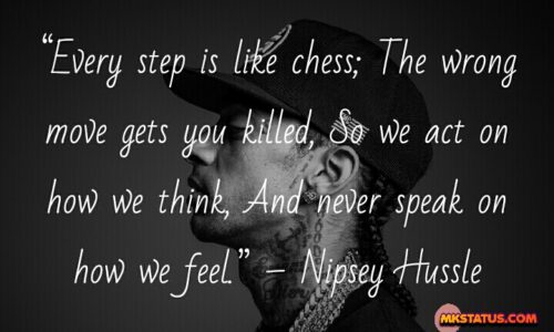 Nipsey Hussle inspiration quote