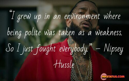 Nipsey Hussle lyric quotes