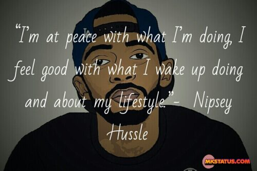 Nipsey Hussle quotes on love