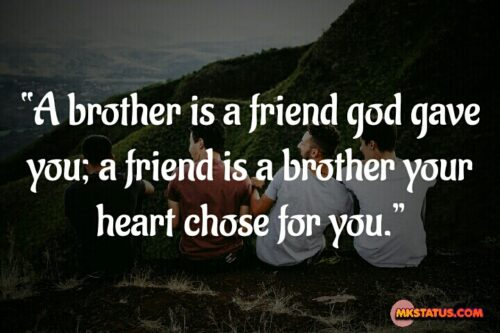 Brothers Love Friendship Quotes