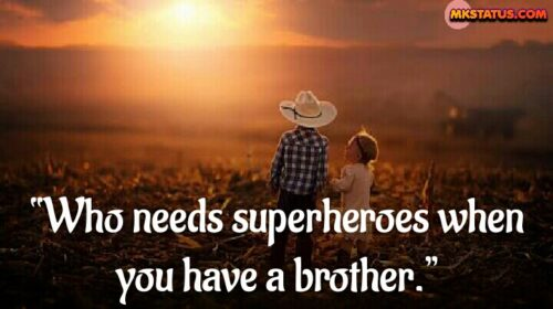 Brothers Day Quotes Status