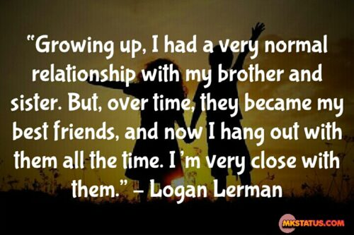 Real Brother and Sister Love Quotes