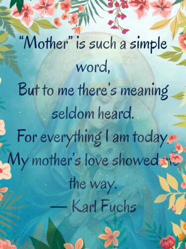 Mothers Day Poems 2020