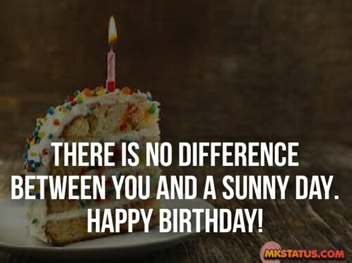 Happy Birthday Quotes with Cake background images