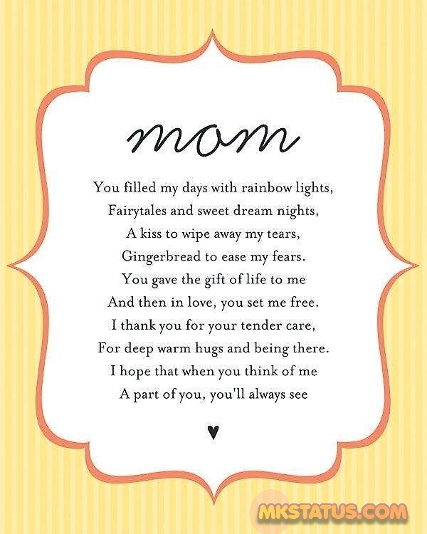 Mother Day Poem images