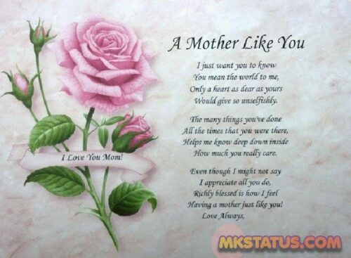 Mother Day Poem 2020 images for FB Status and DP