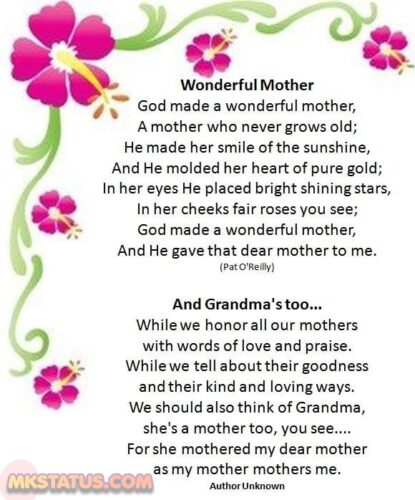 Download Poems on Mothers Photos
