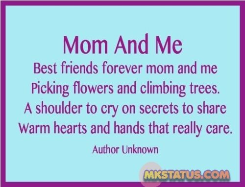 Mother Day wishes mom poem images